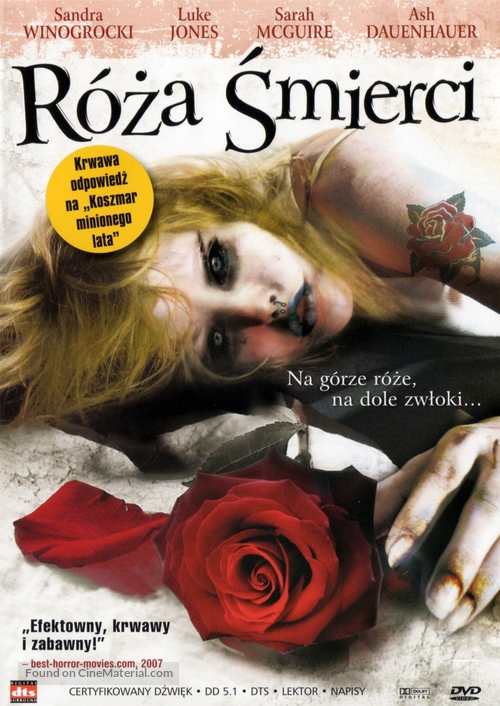Rose of Death Polish movie cover