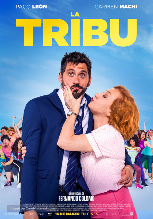 La tribu - Spanish Movie Poster