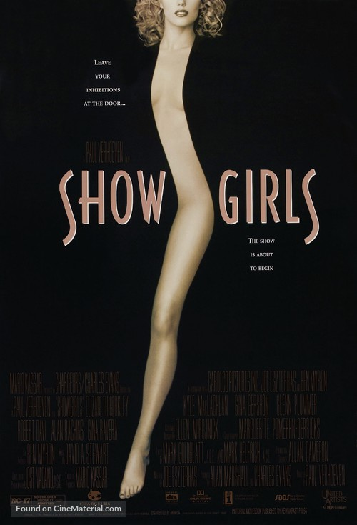 Showgirls - Theatrical movie poster
