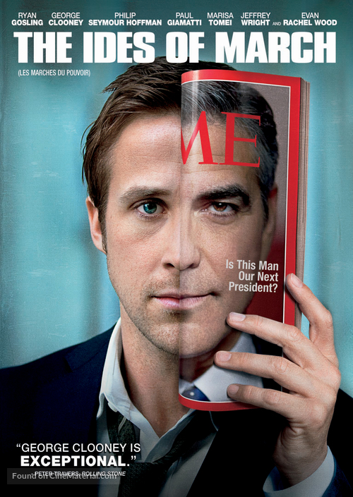The Ides of March - Canadian DVD movie cover