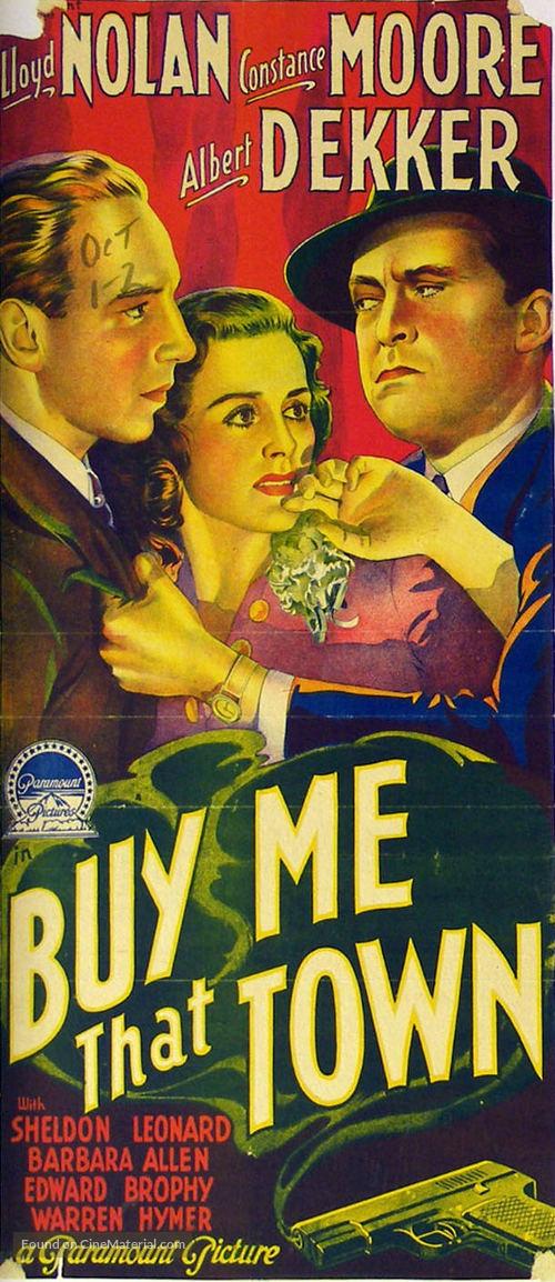 Buy Me That Town - Australian Movie Poster