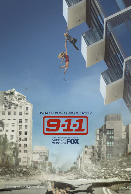 """9-1-1"" - Movie Poster"