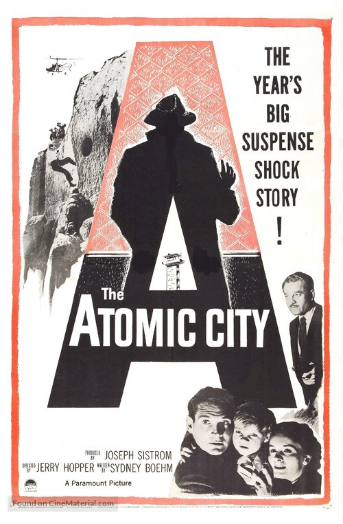 The Atomic City - Movie Poster
