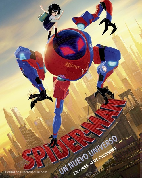 Spider-Man: Into the Spider-Verse - Colombian Movie Poster