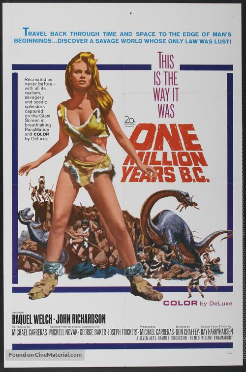One Million Years B.C. - Movie Poster