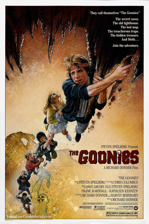The Goonies - Movie Poster