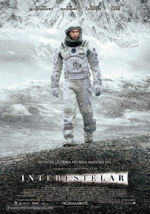 Interstellar - Argentinian Movie Poster