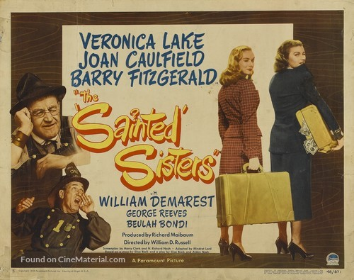 The Sainted Sisters - Movie Poster