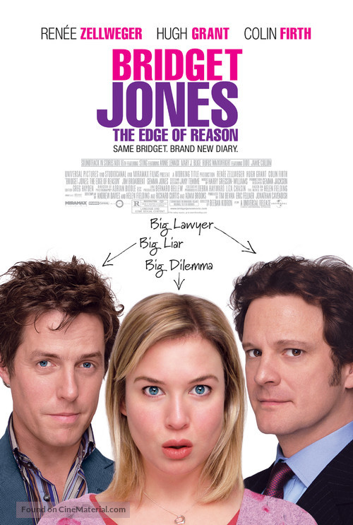 Bridget Jones: The Edge of Reason - Movie Poster