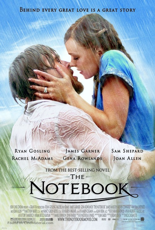 The Notebook - Theatrical movie poster