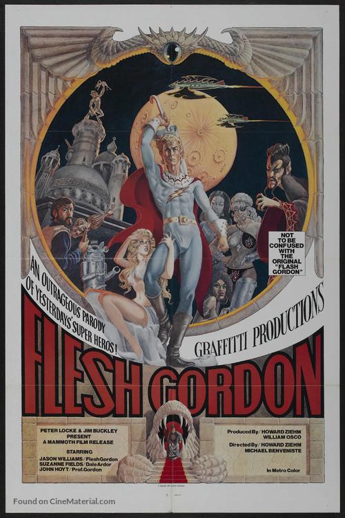Flesh Gordon - Movie Poster