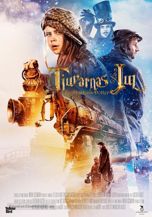 Tjuvarnas jul: Trollkarlens dotter - Swedish Movie Poster