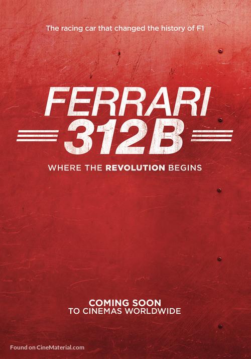Ferrari 312b Where The Revolution Begins 2017 Italian
