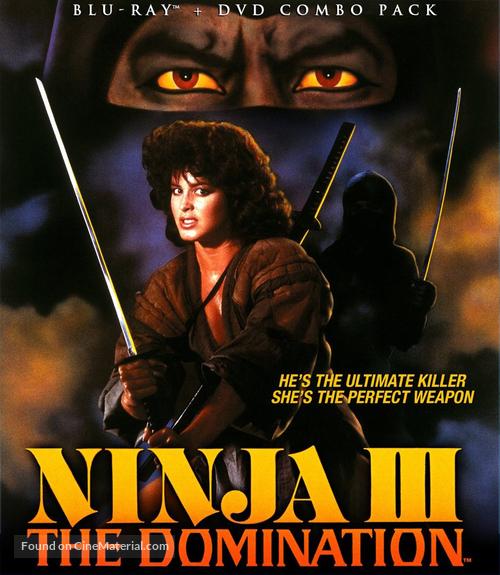 Ninja III: The Domination - Blu-Ray cover