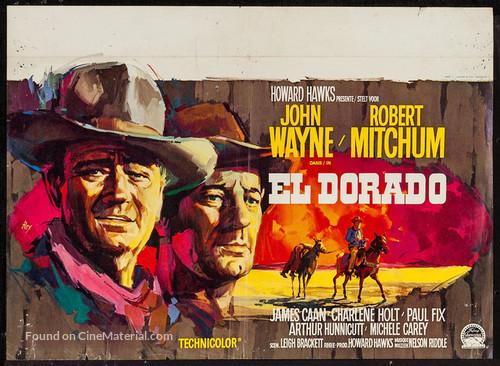 El Dorado - Belgian Movie Poster