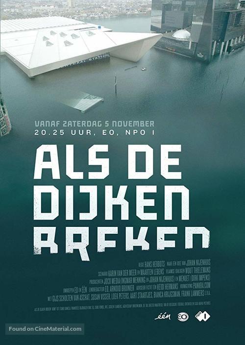 """""""Als de dijken breken"""" - Dutch Movie Poster"""