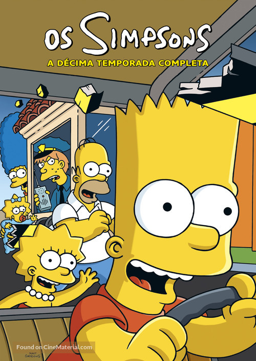 """The Simpsons"" - Brazilian Movie Cover"