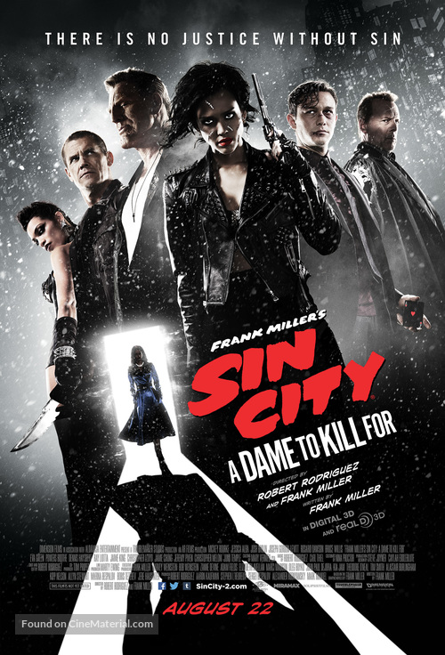 Sin City: A Dame to Kill For - Theatrical poster