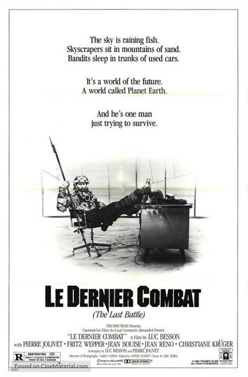 Le dernier combat - Movie Poster