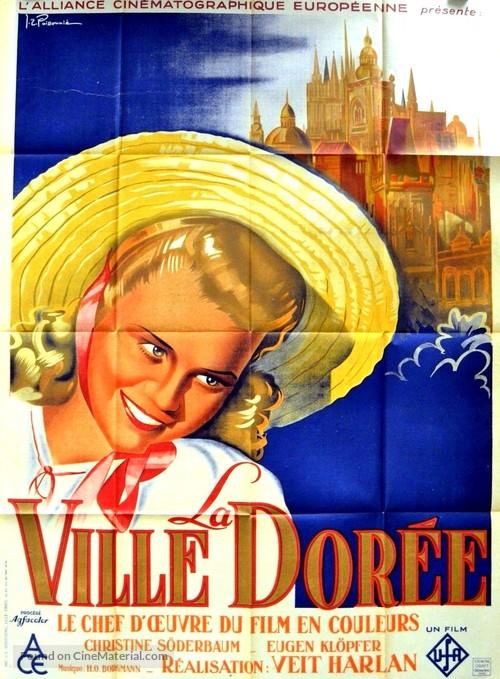 Goldene Stadt, Die - French Movie Poster