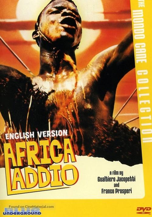Africa addio - DVD movie cover