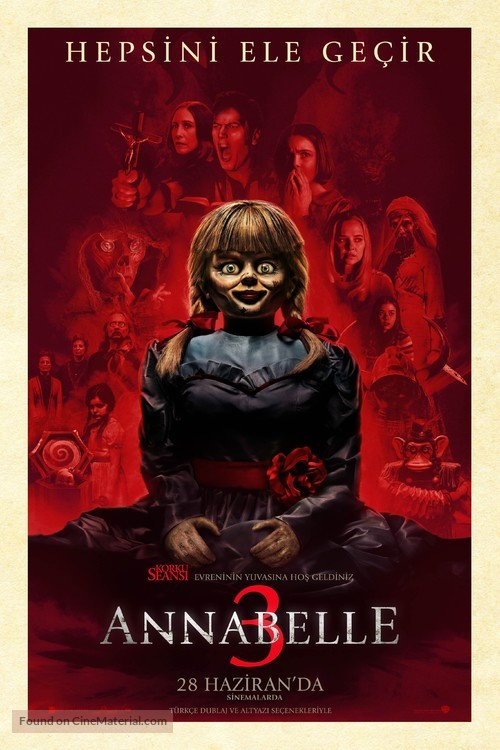 Annabelle Comes Home - Turkish Movie Poster
