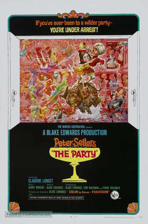The Party - Theatrical poster