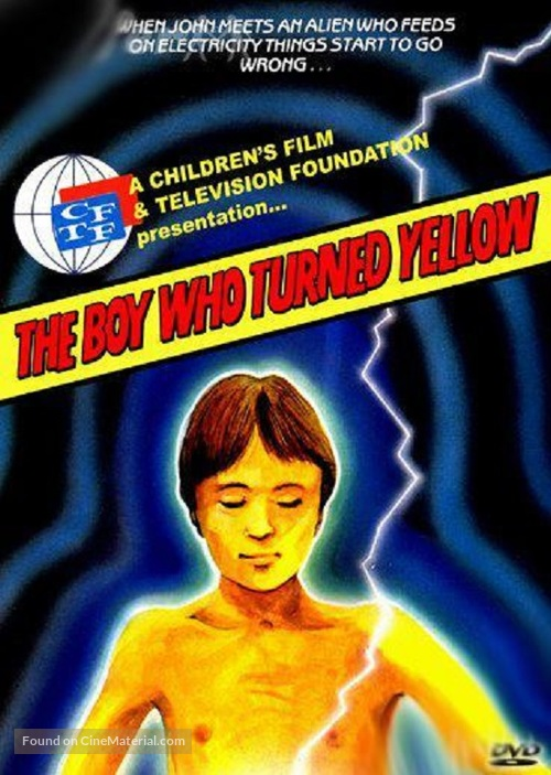 The Boy Who Turned Yellow - British Movie Cover