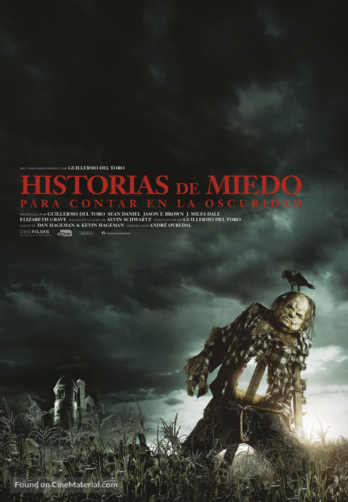 Scary Stories to Tell in the Dark - Spanish Movie Poster