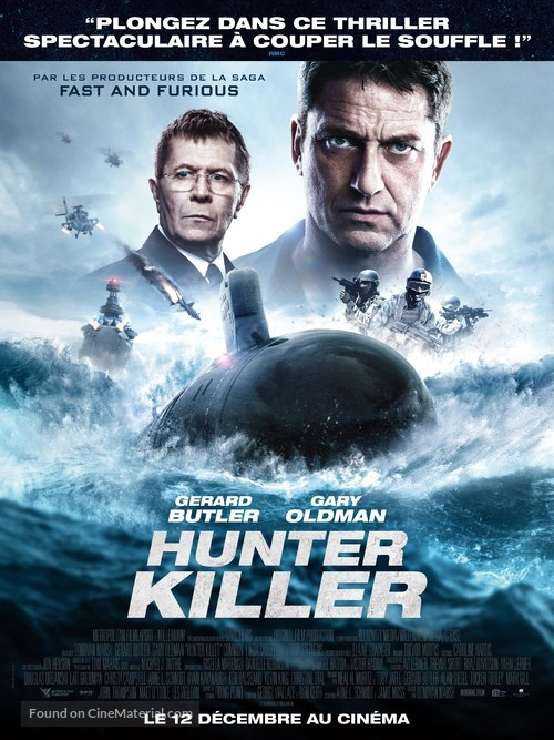Hunter Killer - French Movie Poster