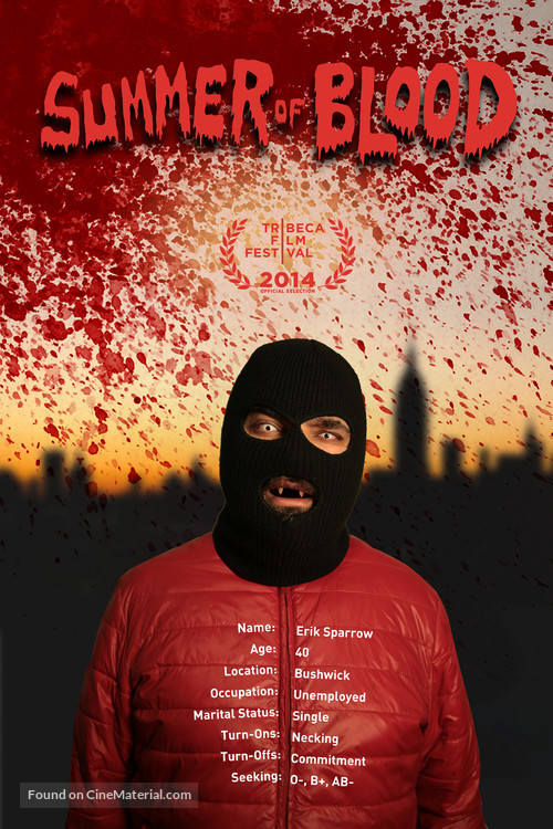 Summer of Blood - Movie Poster