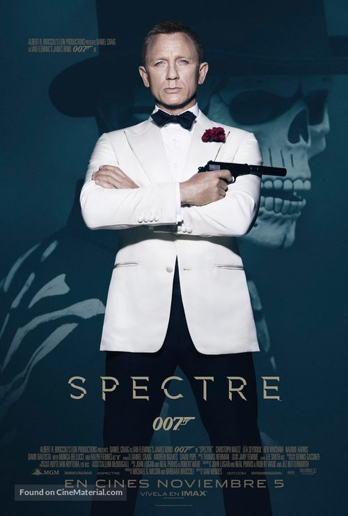 Spectre - Mexican Movie Poster