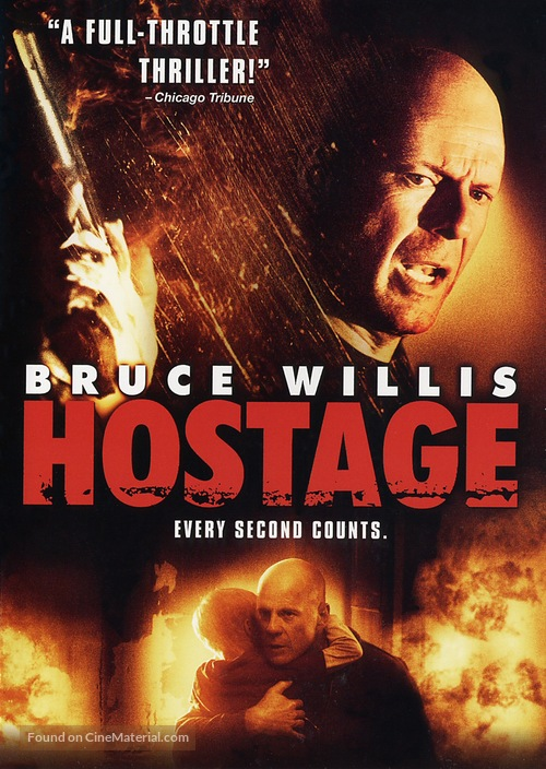 Hostage - DVD cover