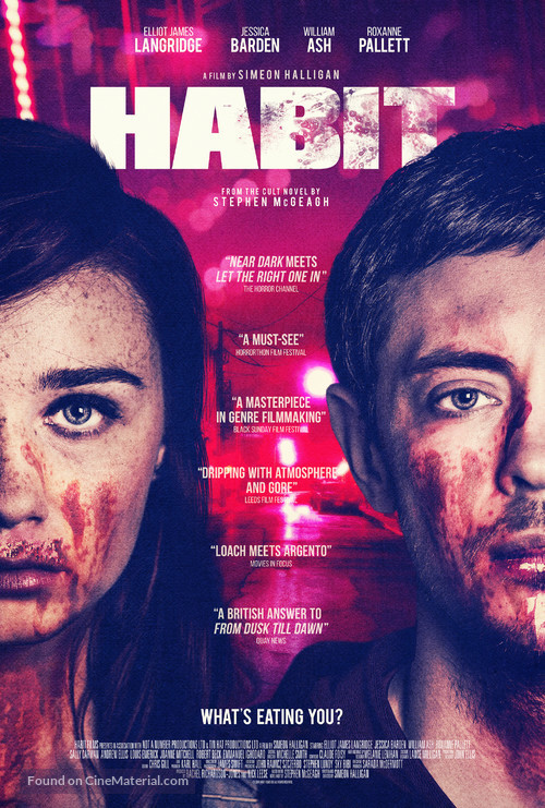 Habit - British Movie Poster