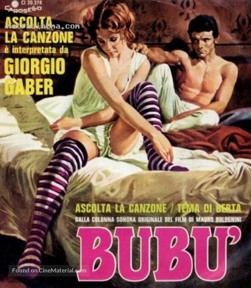 Bubù - Italian Movie Poster