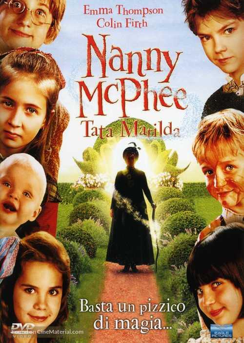Nanny McPhee - Italian Movie Cover