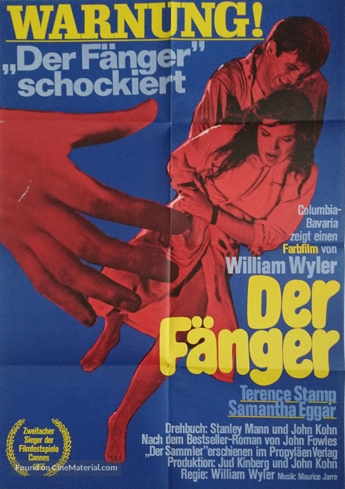 The Collector - German Movie Poster