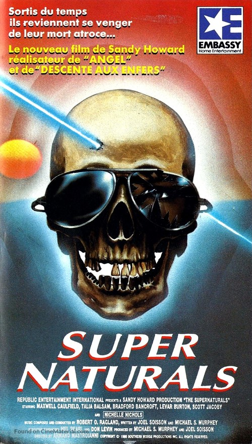 The Supernaturals French Vhs Cover