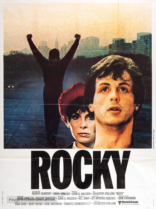 Rocky - French Movie Poster