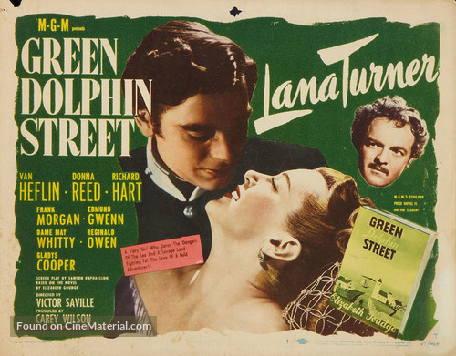 Green Dolphin Street - Movie Poster