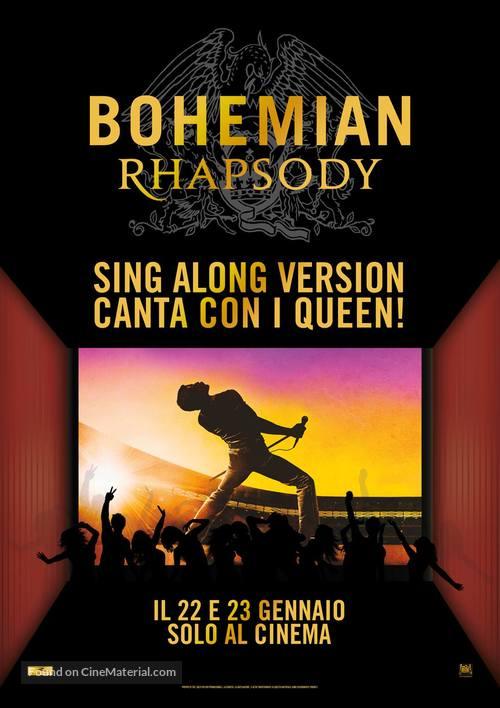 Bohemian Rhapsody - Italian Movie Poster