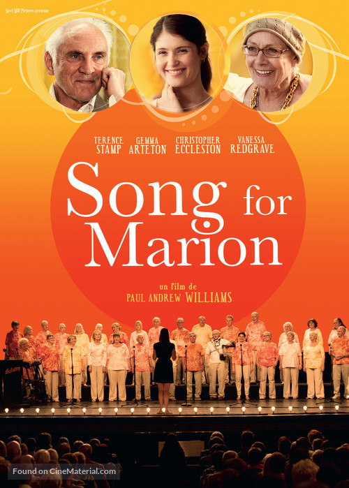 Song for Marion - French Movie Poster