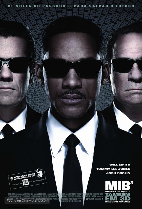 Men in Black 3 - Brazilian Movie Poster
