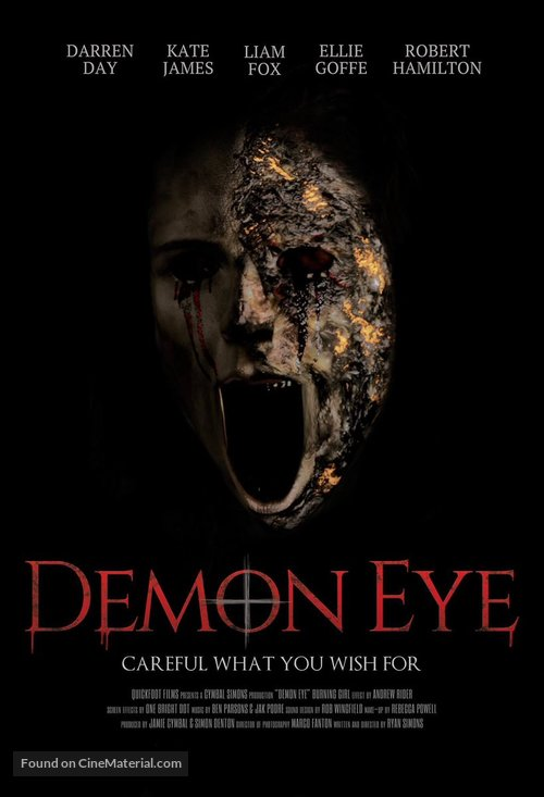 Demon Eye - British Movie Poster