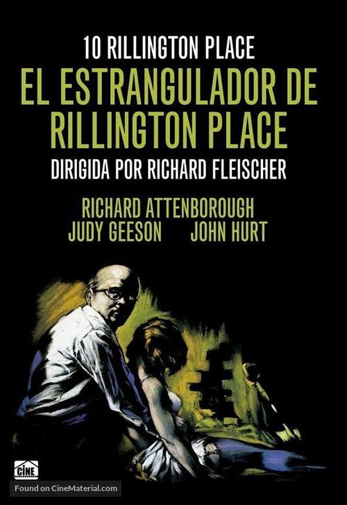 10 Rillington Place - Spanish DVD movie cover