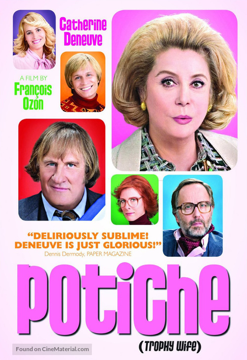 Potiche - DVD cover