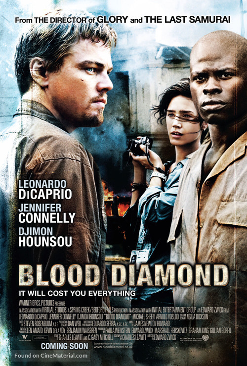Blood Diamond - British Movie Poster
