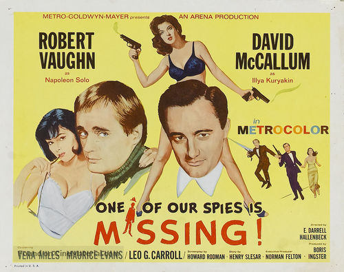 One of Our Spies Is Missing - Movie Poster