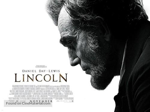 Lincoln - British Movie Poster
