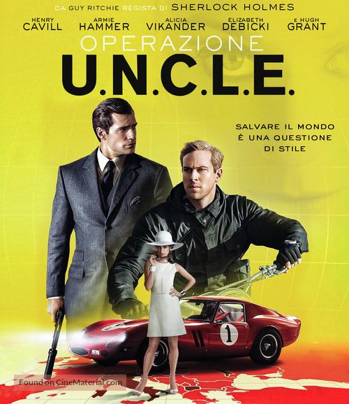 The Man from U.N.C.L.E. - Italian Movie Cover